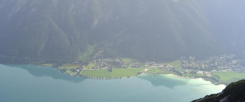 Blick über den Achensee vom Bärenkopf