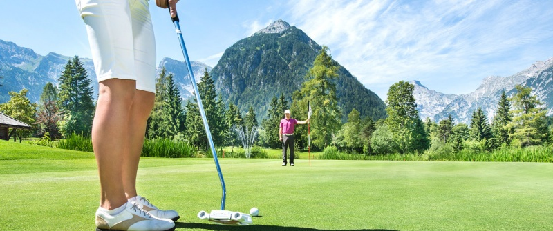 Golfausrüstung bei Sport Wöll in Pertisau am Achensee
