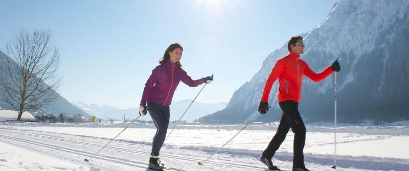 Langlaufen lernen am Achensee