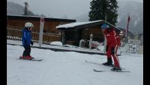 Skifahren lernen mit dem Privatlehrer