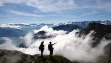 Wandern und Bergsteigen mit den Bergführern von Sport Wöll