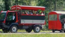 Transport zur Pletzach- und Gernalm mit dem Hüttenexpress von Sport Wöll