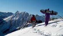 Snowboardausrüstung leihen in Pertisau am Achensee