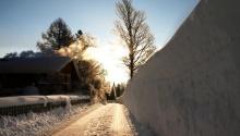 Winterlandschaft in Pertisau am Achensee