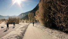 Der Winter am Achensee in seiner ganzen Pracht