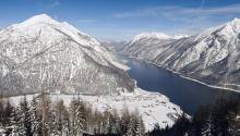 Winter in Pertisau am Achensee